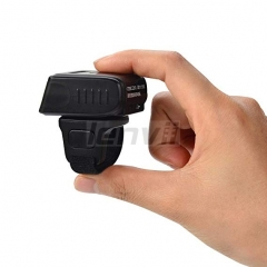 Smallest Barcode Scanner Wireless and Wired 1D 2D QR Digital Printed Bar Codes Reader Mini Pocket Size Handheld QR Barcode Scanner Compact with Rapid