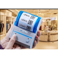 LENVII P16L Portable Wireless Label Barcode Printer Bluetooth Barcode Printer Mobile phone Bluetooth thermal label barcode printer