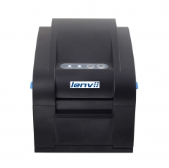 LENVII 350B 80mm/3in Thermal Label Printer, Barcode Printer,External Power Supply USB Interface, No Need Ribbon, 152MM/S Print Speed